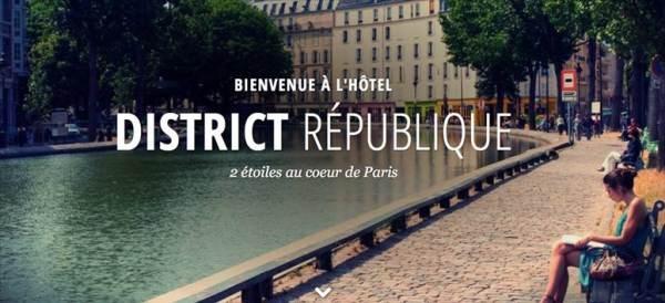 Hôtel District République