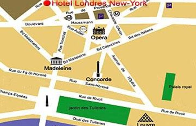 Hotel londres and new york office de tourisme de paris - Office de tourisme de new york ...