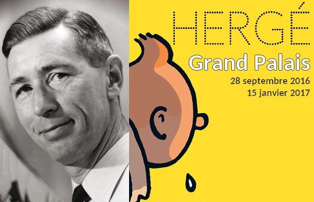 Hergé – Exhibition at the Grand Palais