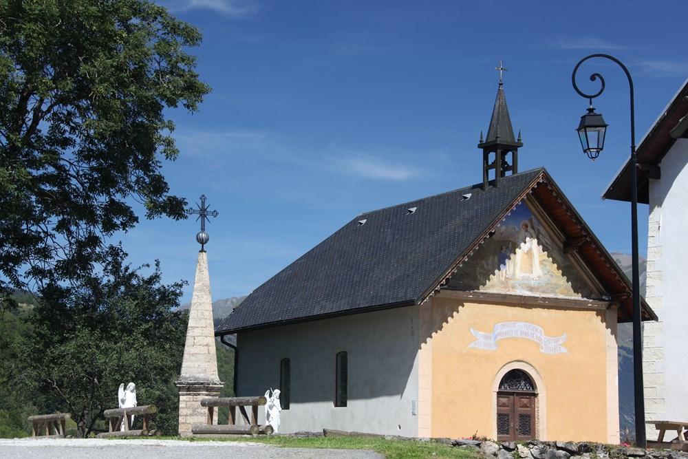 chapelle Notre Dame de la Salette © OT La Toussuire