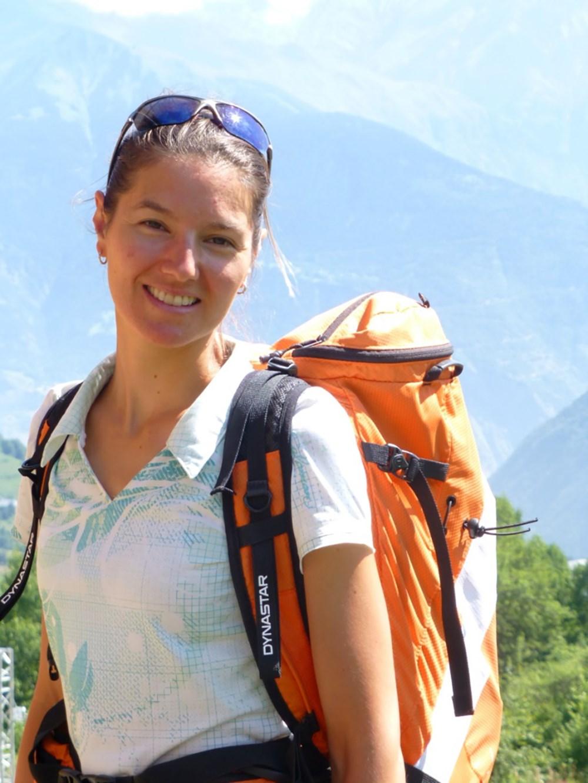 Lorna Bonnel Accompagnatrice en Montagne @LaToussuire ©