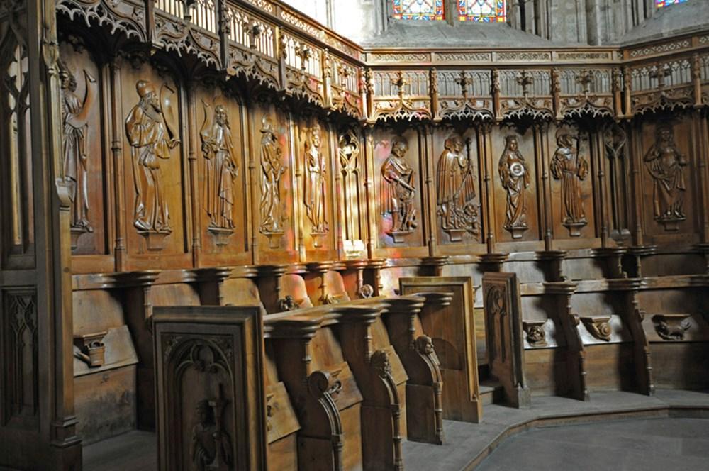 Cathédrale Saint-Jean-Baptiste de Saint-Jean-de-Maurienne © P. Dompnier